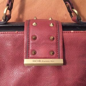 Burgundy Crossbody Bag - Rachel Roy